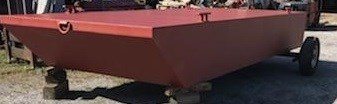 """2021 20' x 8' x 30"""" Steel Barge - BUILT TO ORDER Photo 1 of 5"""