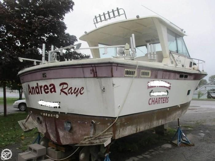 1990 Baha Cruisers 310 Sport Fisherman Photo 3 sur 20