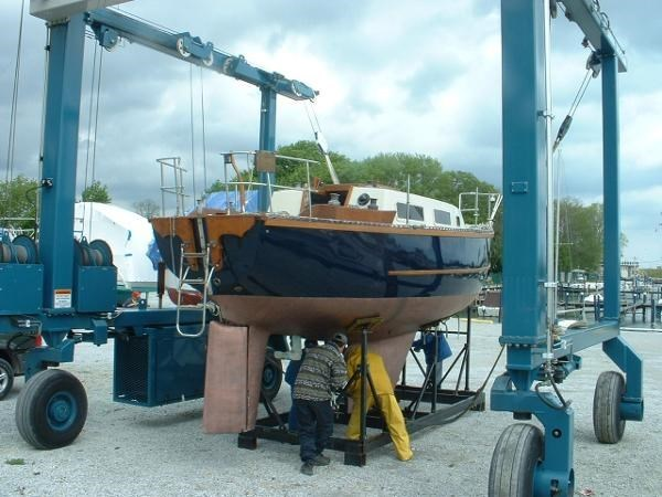 1980 Sloop Woodco Yachts / Given 29 Photo 6 of 42