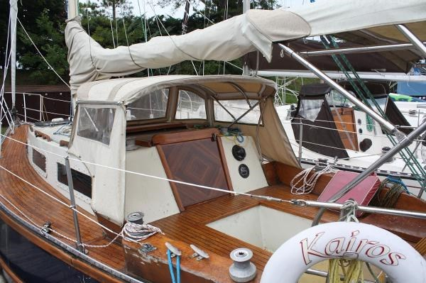 1980 Sloop Woodco Yachts / Given 29 Photo 13 of 42