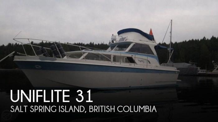 Uniflite 31 1968 Used Boat For Sale In Salt Spring Island
