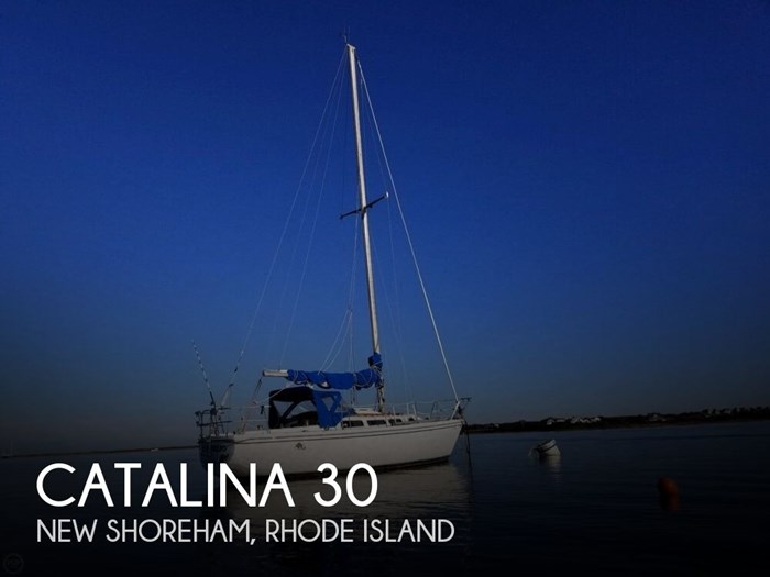 Catalina 30 1980 Used Boat for Sale in New Shoreham, Rhode Island -  BoatDealers ca