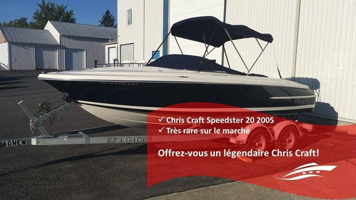 Chris-Craft 20 Speedster 2005 Used Boat for Sale in Longueuil, Quebec -  BoatDealers ca