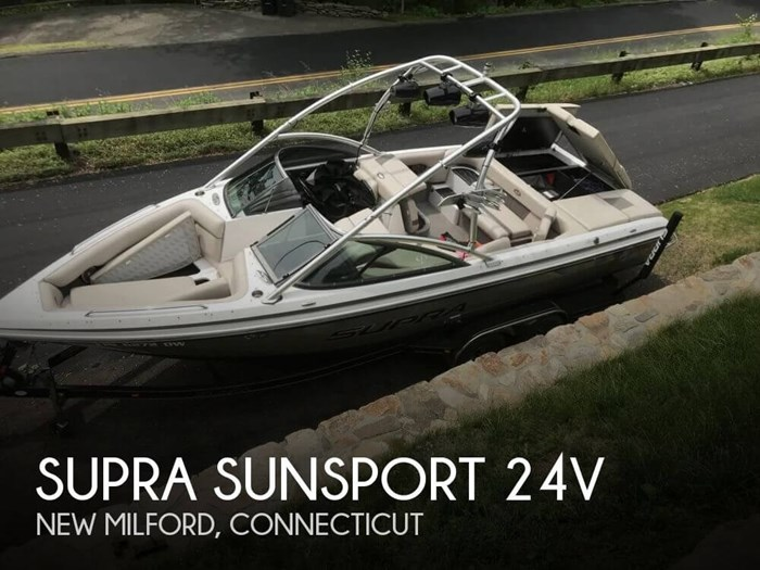 Supra Sunsport 24V 2006 Used Boat for Sale in New Milford, Connecticut -  BoatDealers ca