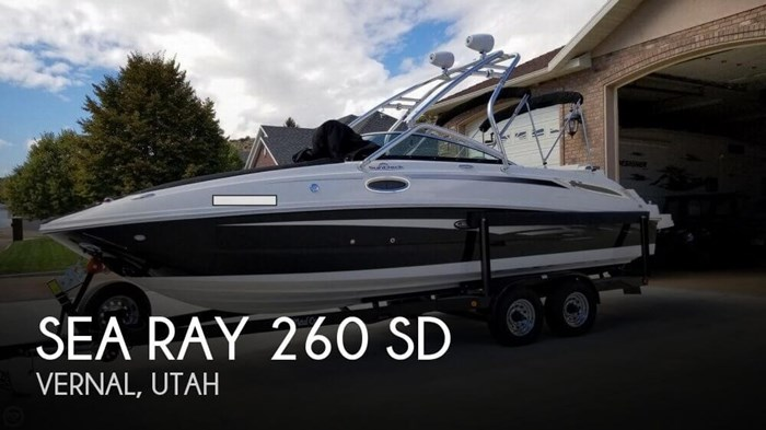 2012 Sea Ray 260 SD Photo 1 sur 20