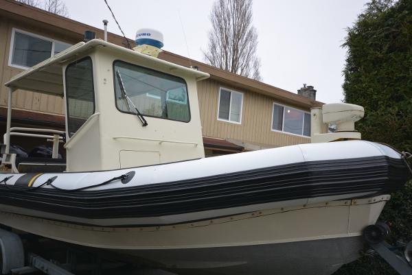 23' Rigid Hull Inflatable