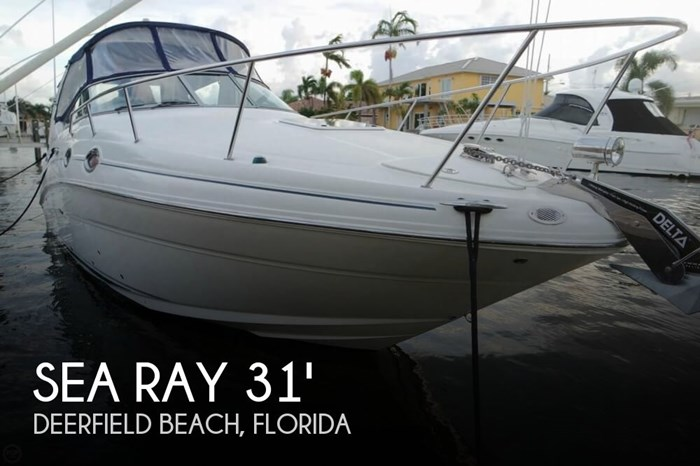 Sea Ray 280 Sundancer 2006 Used Boat For Sale In Deerfield Beach Florida Boatdealers Ca