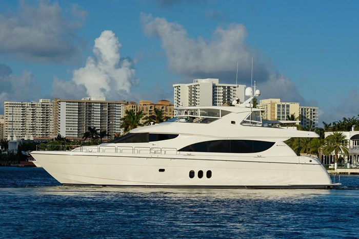 2013 Hatteras 80 Motor Yacht Photo 9 sur 66