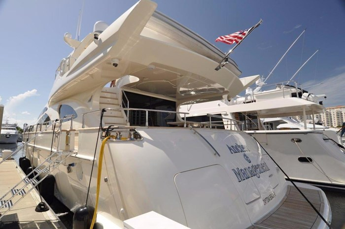 Azimut 80 Carat 2003 Used Boat for Sale in Ft Lauderdale, Florida -  BoatDealers ca