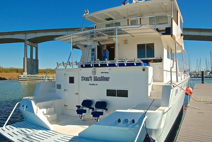 2001 Infinity Cockpit Motor Yacht Photo 2 of 57