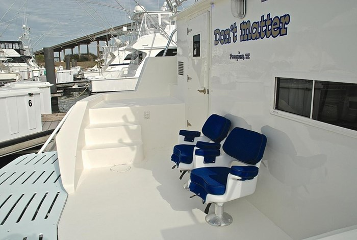 2001 Infinity Cockpit Motor Yacht Photo 43 of 57