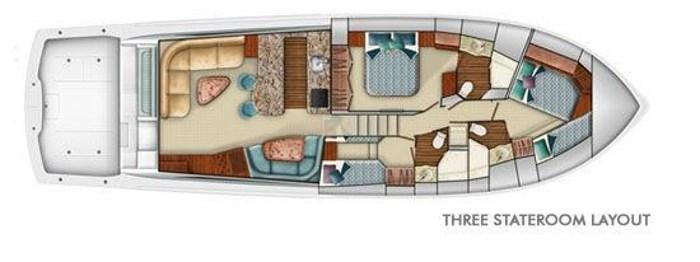 2008 Viking Yachts Convertible Photo 42 sur 42