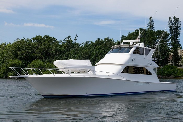 Viking Yachts 61 Enclosed Bridge 2005 Used Boat for Sale in North Palm  Beach, Florida - BoatDealers ca