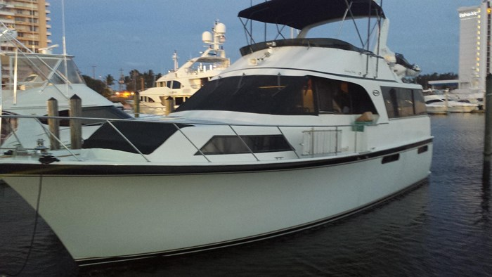 Ocean 48 Motor Yacht 1989 Used Boat for Sale in Fort Lauderdale, Florida -  BoatDealers ca