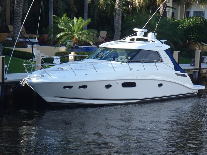 2012 Sea Ray 450 Sundancer Photo 3 sur 50