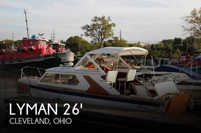 1969 Lyman 26 Express Cruiser Photo 1 of 20