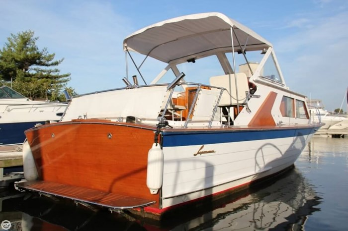 1969 Lyman 26 Express Cruiser Photo 15 of 20