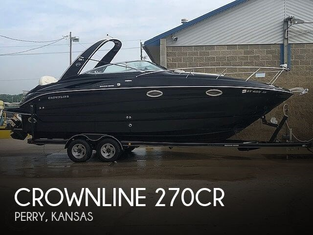 Crownline 270CR 2007 Used Boat for Sale in Perry, Kansas - BoatDealers ca