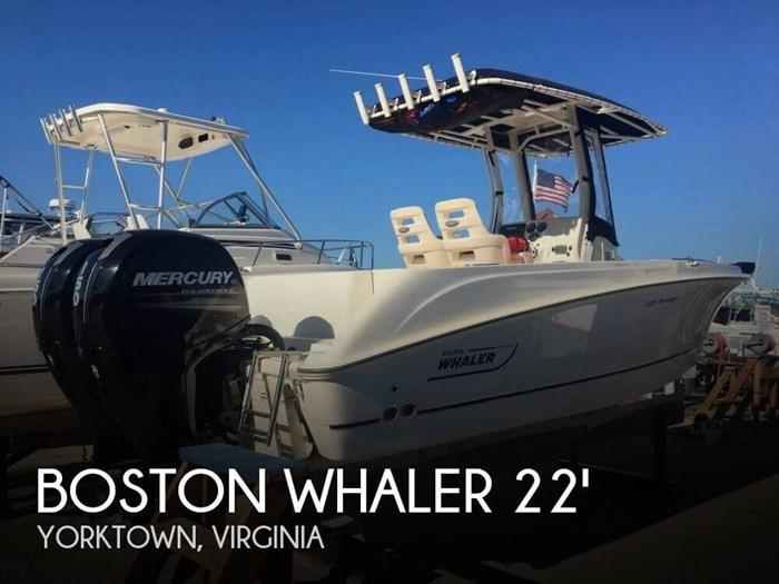 2015 Boston Whaler 220 Outrage Photo 1 of 20