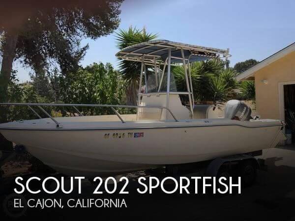 1999 Scout 202 Sportfish Photo 1 sur 20