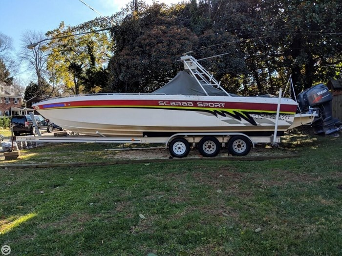 1994 Wellcraft Scarab 302 Sport Photo 11 sur 20