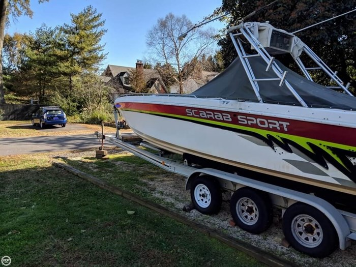 1994 Wellcraft Scarab 302 Sport Photo 12 sur 20