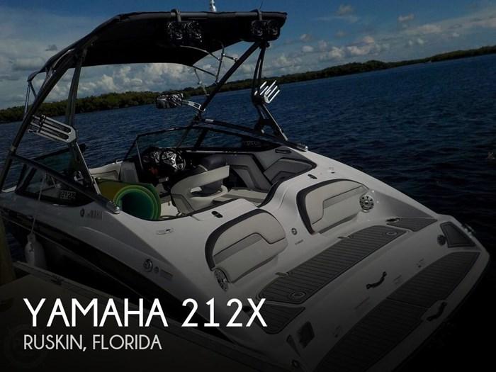 2016 Yamaha 212X Photo 1 of 20