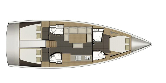 2021 Dufour Yachts Grand Large 460 Photo 39 sur 42