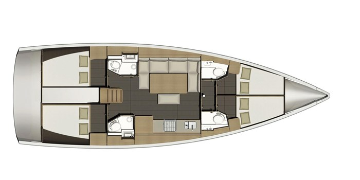 2021 Dufour Yachts Grand Large 460 Photo 40 sur 42