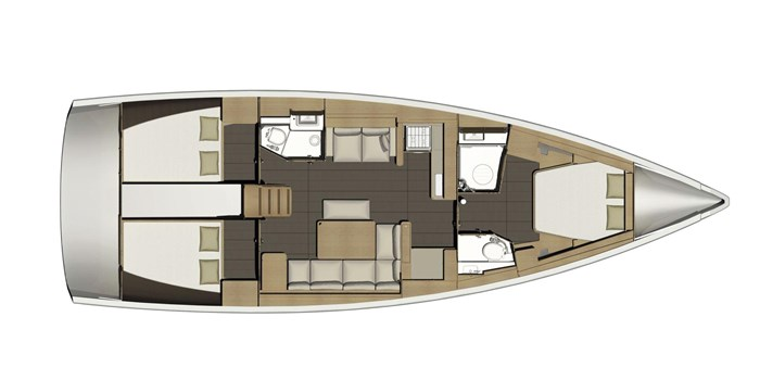 2021 Dufour Yachts Grand Large 460 Photo 41 sur 42