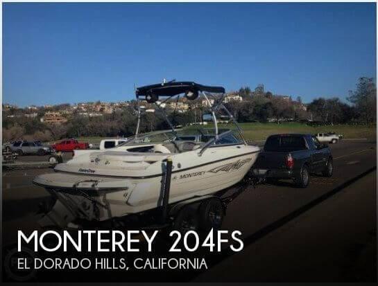 2011 Monterey 204FS Photo 1 sur 20