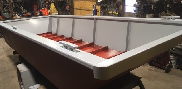 "2021 19' x 7'6 x 32"" Steel Work Boat Photo 3 of 4"