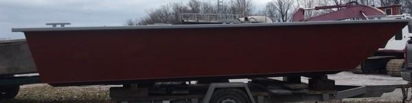 "2021 19' x 7'6 x 32"" Steel Work Boat Photo 4 of 4"