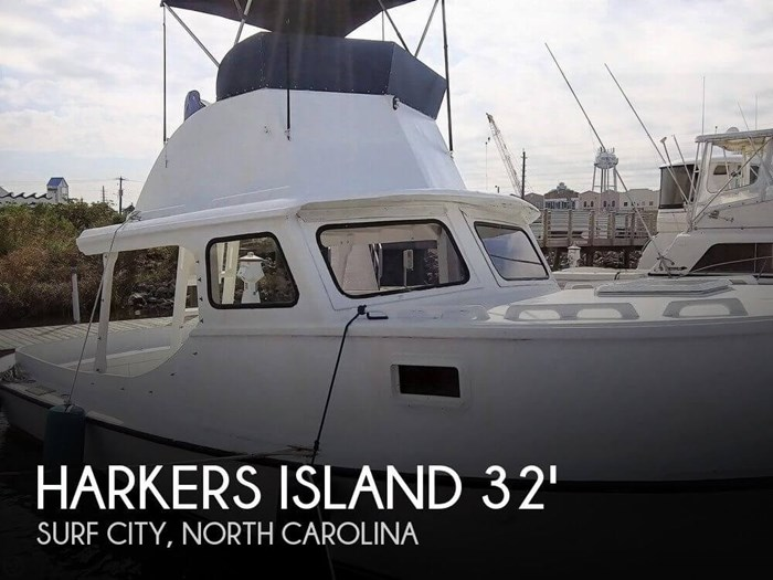 1988 Harkers Island 32 Cruiser Core Sounder Photo 1 of 20