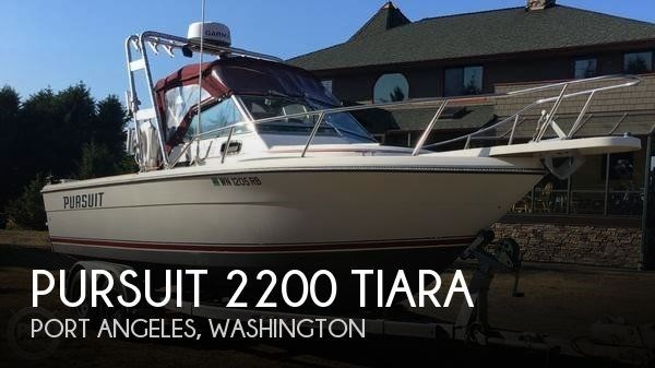 1985 Pursuit 2200 Tiara Photo 1 sur 20