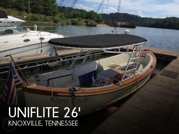 Uniflite Whaleboat 26 1968 Used Boat for Sale in Knoxville ...