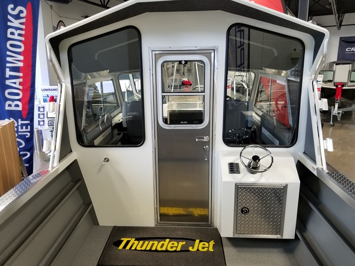 2021 Thunder Jet 23 Alexis Hard Top Alaskan Bulkhead Photo 11 of 92