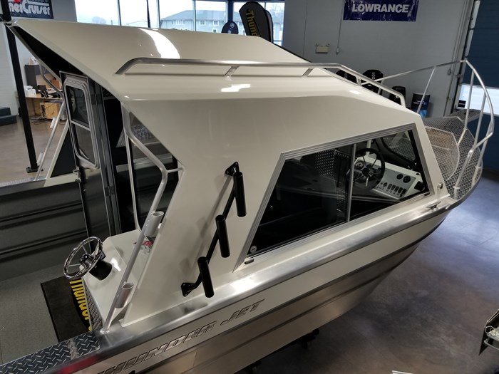 2021 Thunder Jet 23 Alexis Hard Top Alaskan Bulkhead Photo 54 of 92