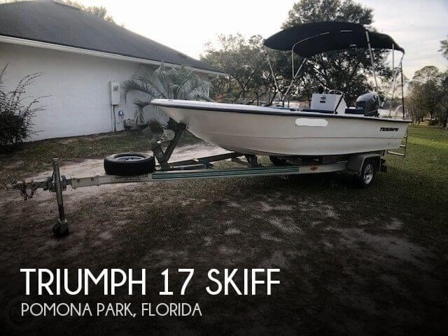 2011 Triumph 17 Skiff Photo 1 sur 20