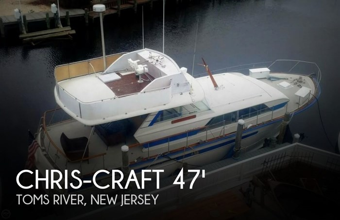 1970 Chris-Craft 47 Commander Photo 1 sur 20