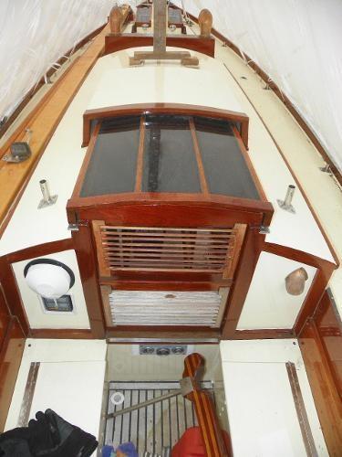 1963 Custom 28' wooden sloop Photo 11 sur 39