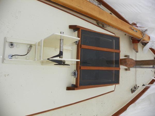1963 Custom 28' wooden sloop Photo 12 sur 39