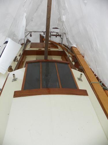1963 Custom 28' wooden sloop Photo 13 sur 39