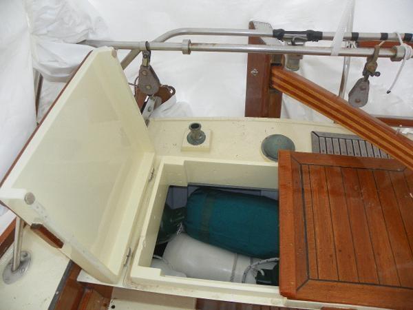 1963 Custom 28' wooden sloop Photo 14 sur 39