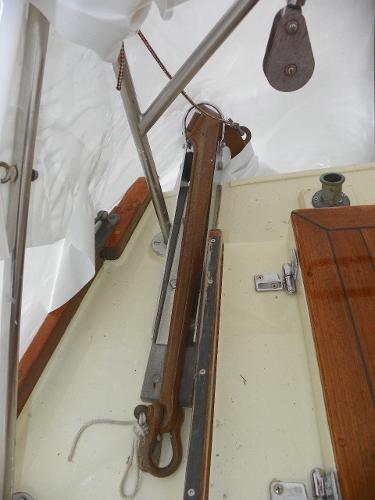 1963 Custom 28' wooden sloop Photo 15 sur 39