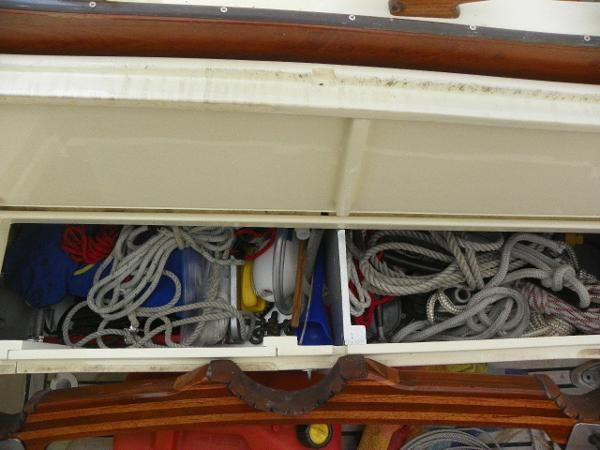 1963 Custom 28' wooden sloop Photo 17 sur 39