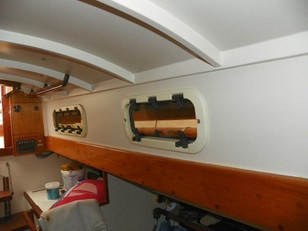 1963 Custom 28' wooden sloop Photo 22 sur 39