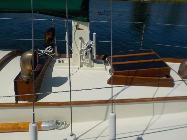 1963 Custom 28' wooden sloop Photo 6 sur 39