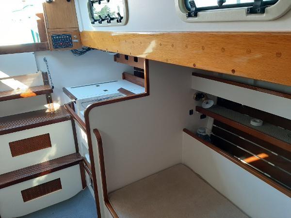 1963 Custom 28' wooden sloop Photo 33 sur 39