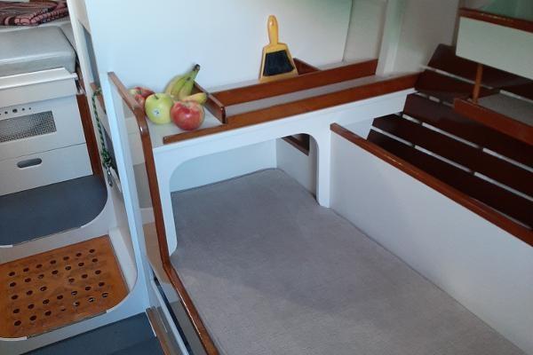 1963 Custom 28' wooden sloop Photo 36 sur 39